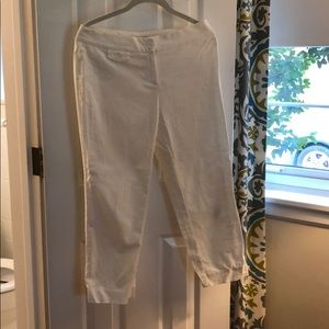 White Capri Slacks